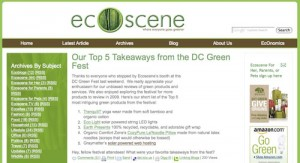 GraymatterHost Named in Top 5 Takeaways By EcoScene Magazine